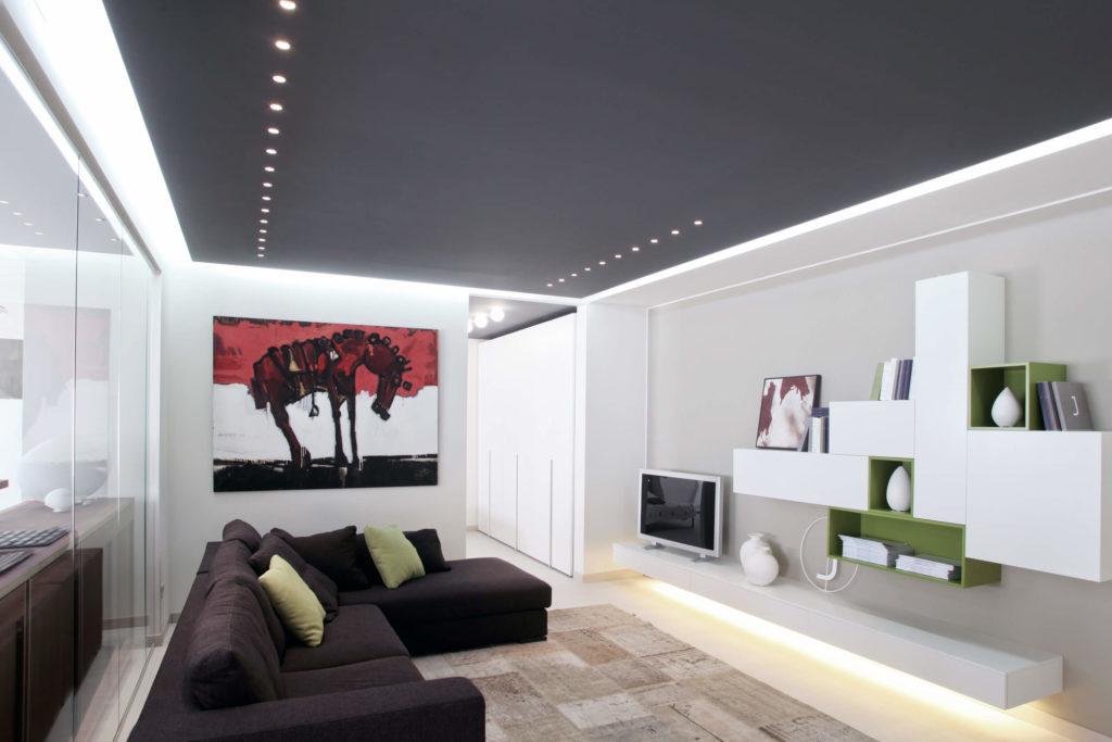 Come illuminare il soggiorno idee creative di interni e - Illuminazione soggiorno led ...