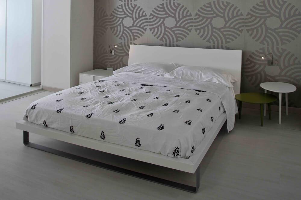Applique camera da letto con luce lettura: stk trio led applique