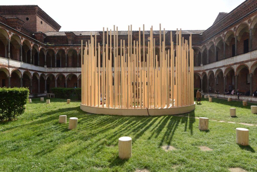 Radura di Stefano Boeri alla Statale di Milano