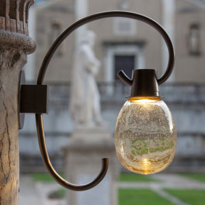 Lampade da esterno in vetro soffiato