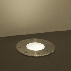 Led recessed light body