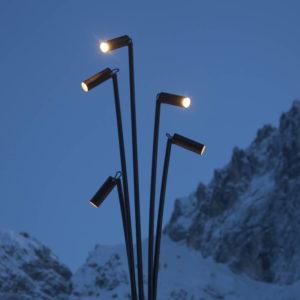 Lampione da giardino a led