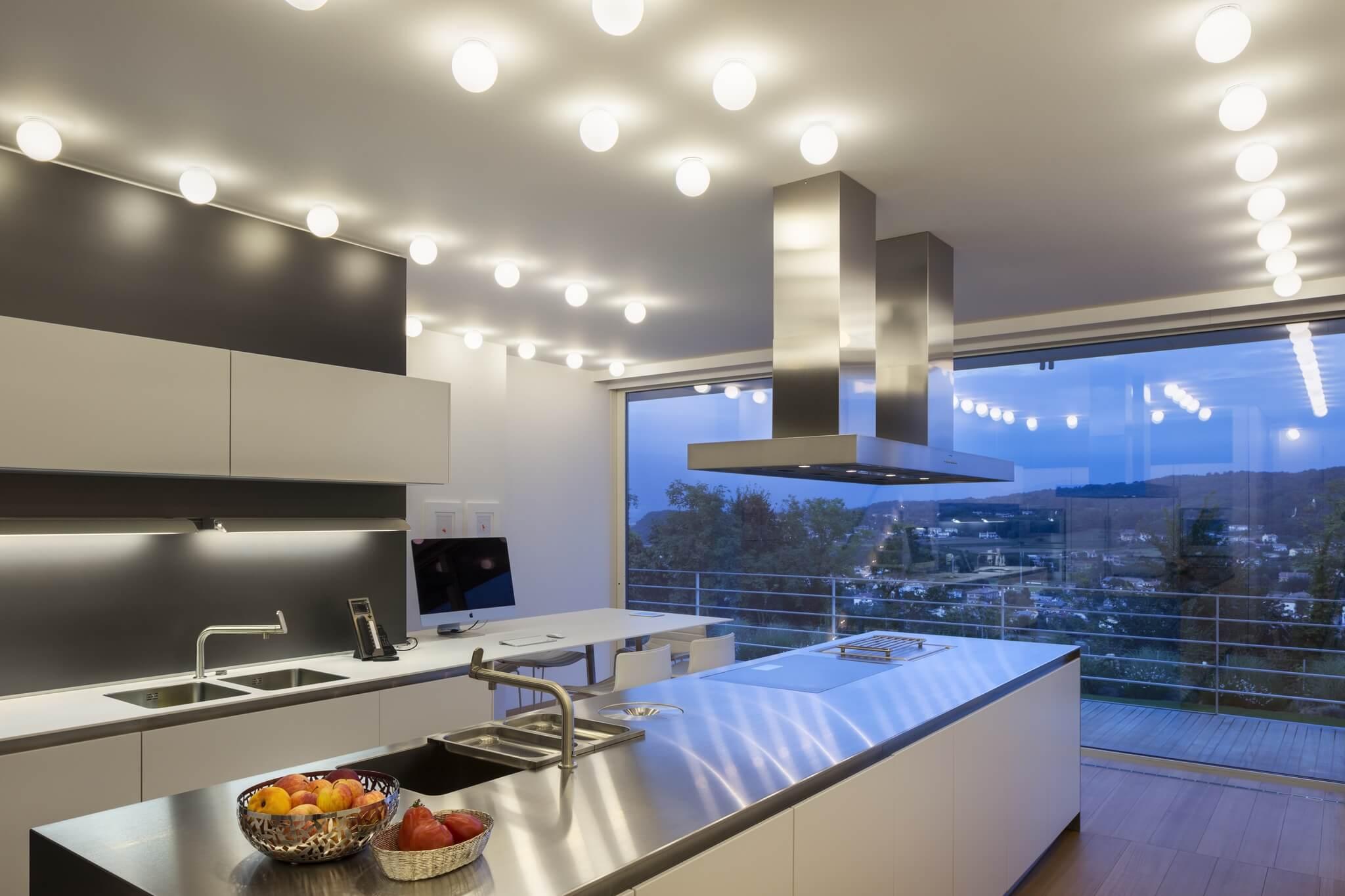 Illuminazione led casa privata brillamenti 3 brillamenti