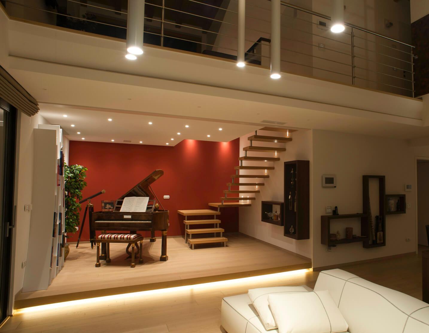 Illuminazione salotto brillamenti brillamenti - Come illuminare casa ...