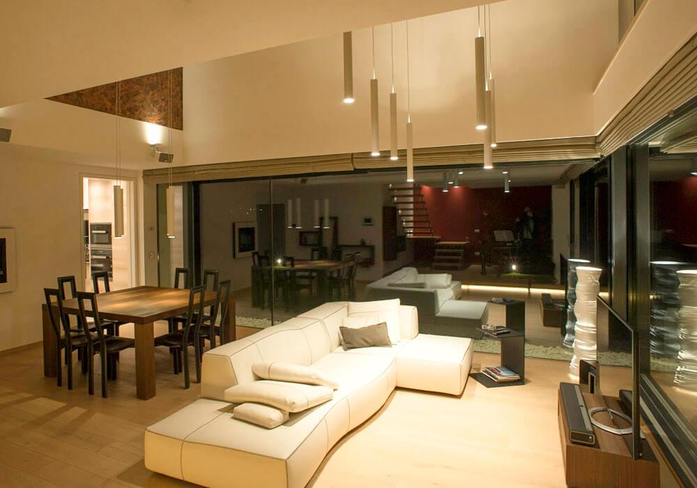 Illuminazione soggiorno lampade a sospensione soffitto led