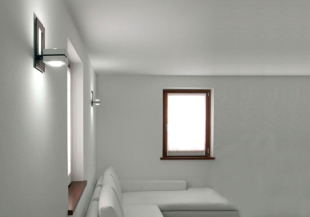 Foto soggiorno con illuminazione lampade applique soggiorno