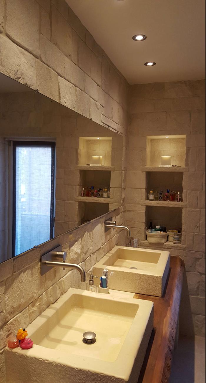 Illuminazione bagno soffitto come illuminare il bagno brillamenti - Illuminare il bagno ...