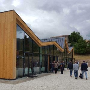 Centro polivalente e di protezione civile di Norcia