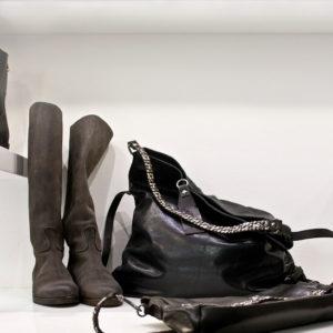 Iluminazione negozio scarpe