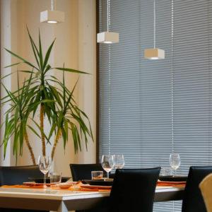 Illuminare il tavolo da pranzo