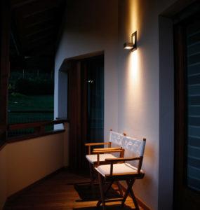 Lampada Led parete da esterni-applique-Klas-illuminazione terrazzo-Brillamenti (1)