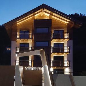 Villetta di montagna, illuminazione esterni Brillamenti® Officina della luce